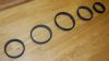Instrument Retainer Rings (set of 5) Porsche 911 '69-'89