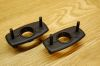 Targa Top Handle Rosettes (pair) Porsche 911 / 912 '67-'85