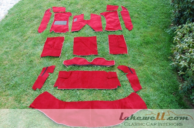 Interior Carpet Set Alfa Romeo Spider 2000 78 94 Alfa