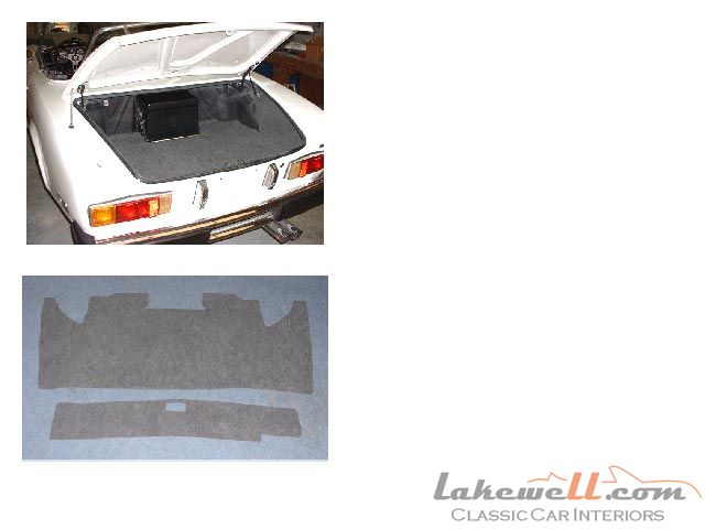 Trunk Carpet Set Fiat 124 Amp Spider 2000 74 82 Fiat