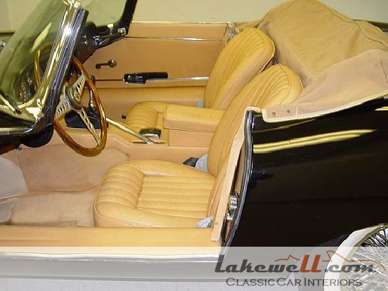 Complete Interior Restoration Kit Jaguar Xke 4 2 Ots 64