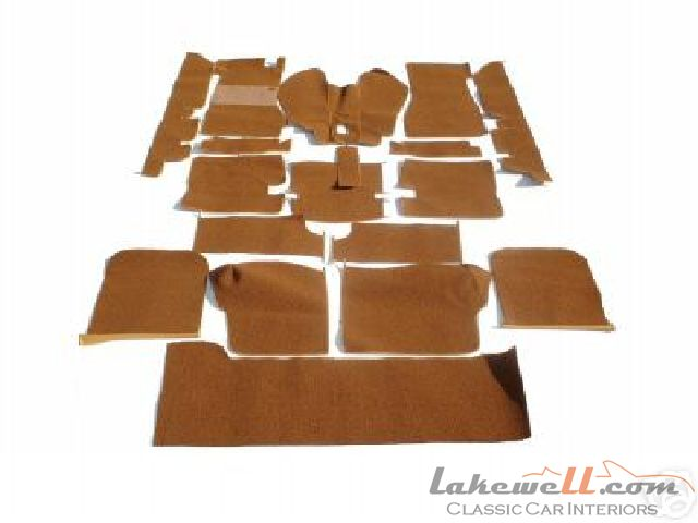 ... pieces (for 2-seater cars) or 22-pieces (for jump seat equipped cars