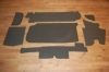 Trunk carpet set Mercedes 280/ 350/ 450 SL (R107) '74-'85