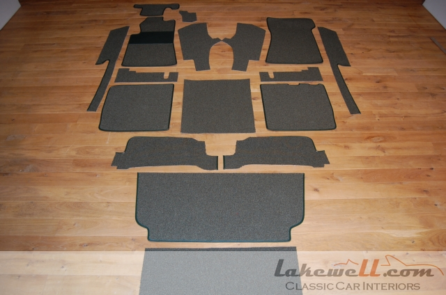 Interior Carpet Set Mercedes 280 350 450 Sl R107 74