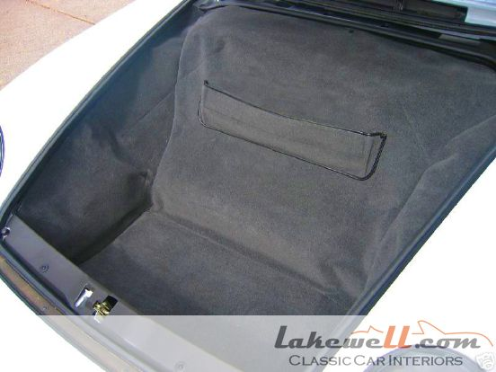 how to clean a 964 trunk