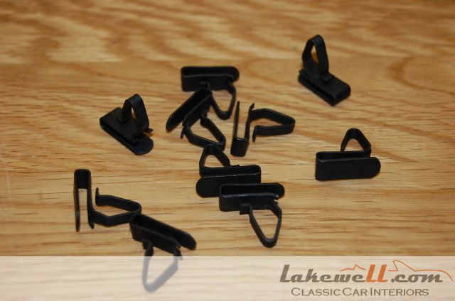 Trim Panel Clips 6mm Per Set Of 10 Fasteners And